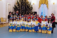 """""""O lia lia vaikai"""" kalėdiniame koncerte Prezidentūroje"""